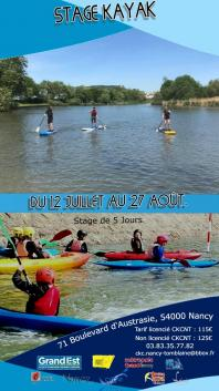 Flyer stages ete 2021